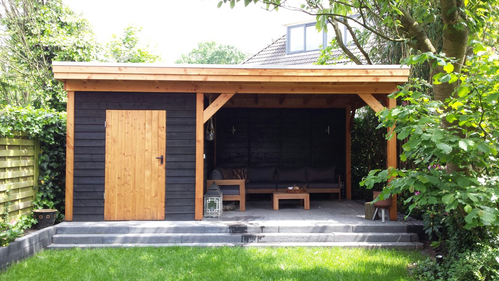 terrasoverkapping of veranda